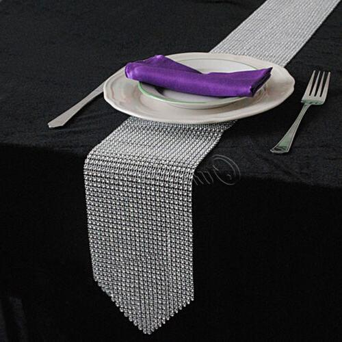 Diamond Rhinestone Home Banquet Dinner