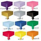 Differ Solid Color Slub Cotton Tablecloth Decorative Elegant