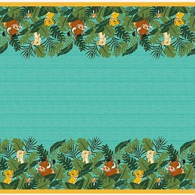 disney lion king plastic table cover