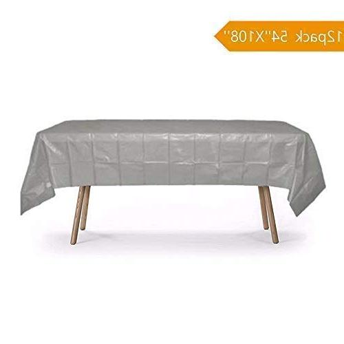 """Salsell Tablecloths 54""""x108"""" Covers Premium for Table Holiday Dinner More"""