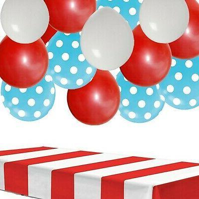dr seuss party decorations kit table cover