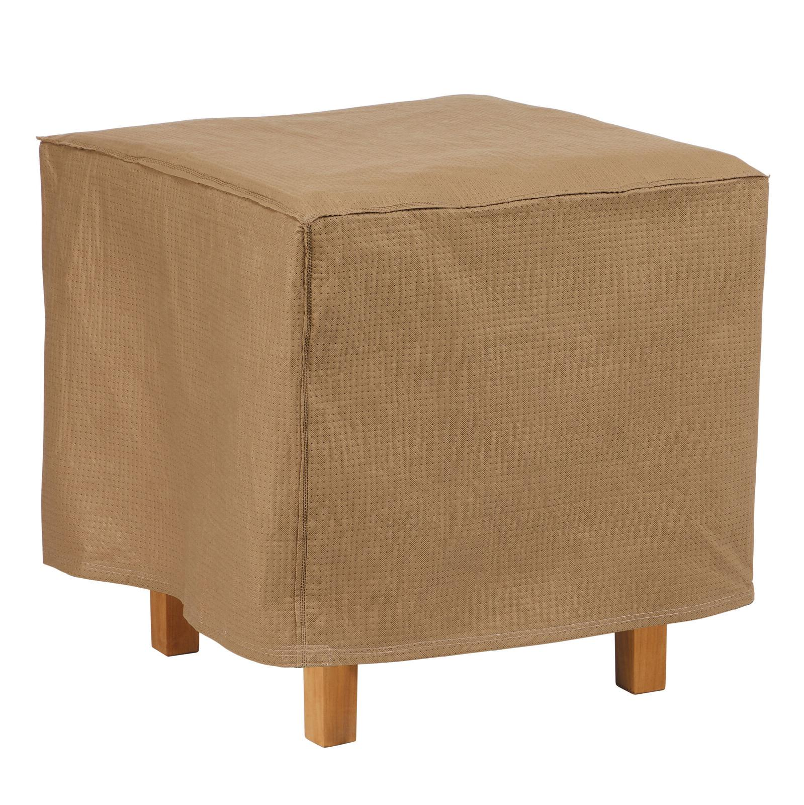 duck covers essential 22 square ottoman side