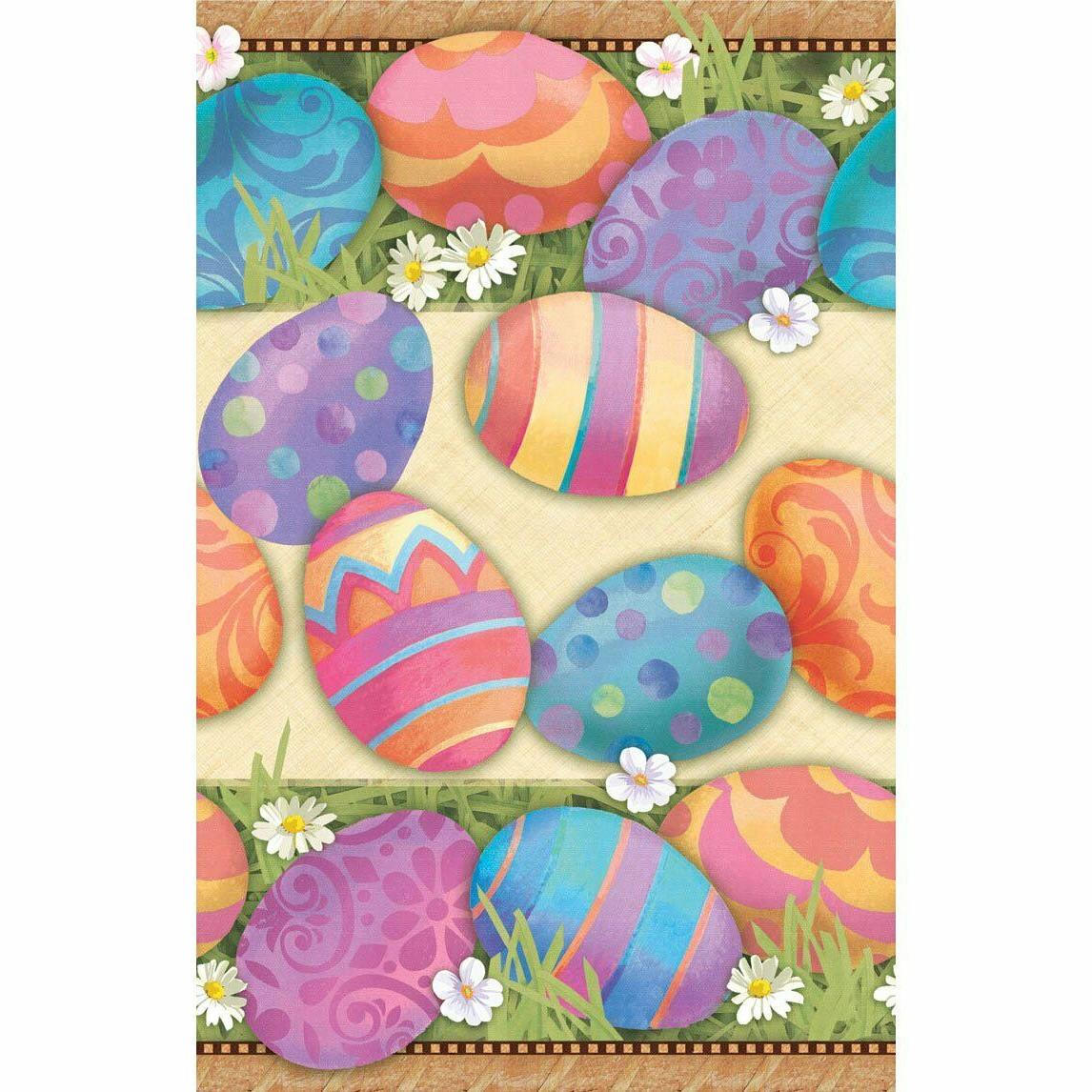 easter elegance table cover party accessory by