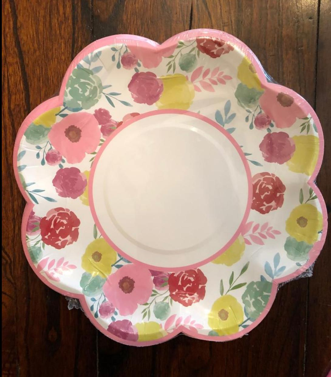 EASTER SPRING TABLE & NAPKINS DECORATIONS SET