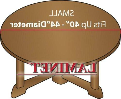 LAMINET Elastic Fitted Cover - Small Round - tables...