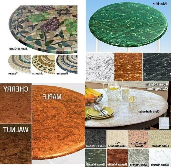 elasticized tablecloths table cover marble wood maple