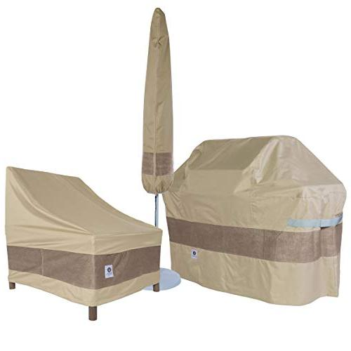 Duck Patio & Chair Set Cover, Fits Rectangular/Oval Patio Table and Chair Sets 109 Long