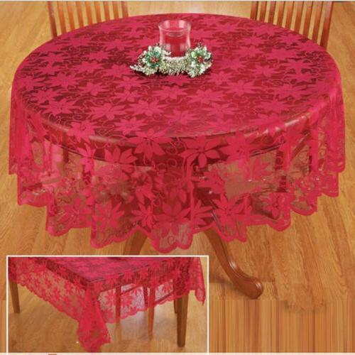 embossed lace tablecloth table cover round rectangle