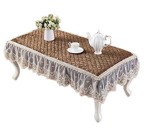 european velvet table cover coffee