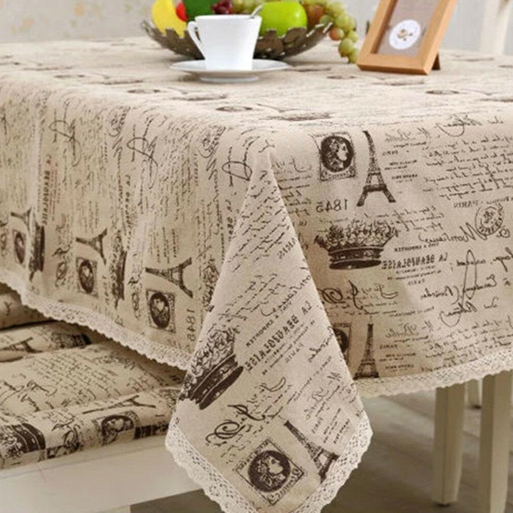 IK- Paris Tower Table Cotton Gra