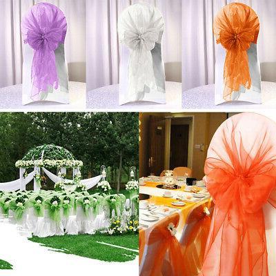 Fashion Cover Sashes Wedding Party Banquet Decor