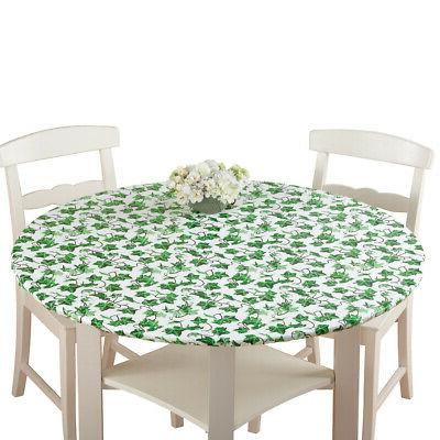 fitted elastic table cover by