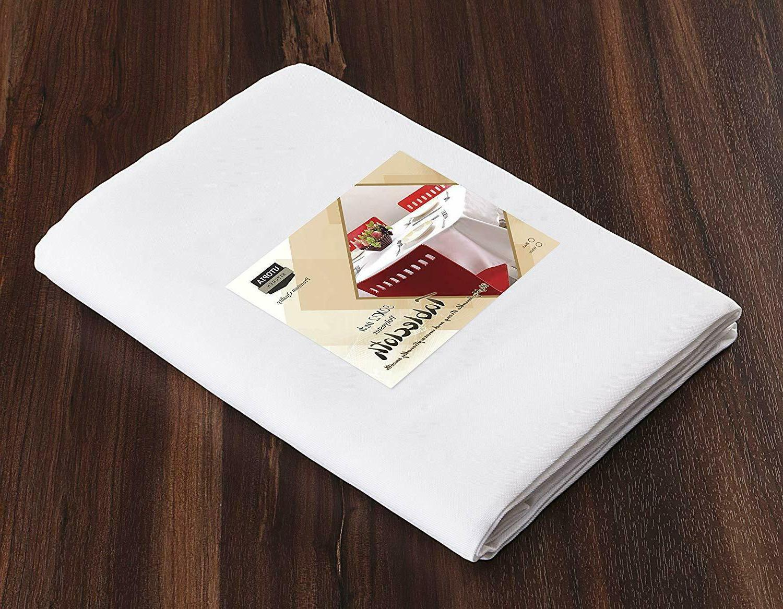 "Rectangular Table Cover 30 x 72"" Utopia Kitchen"