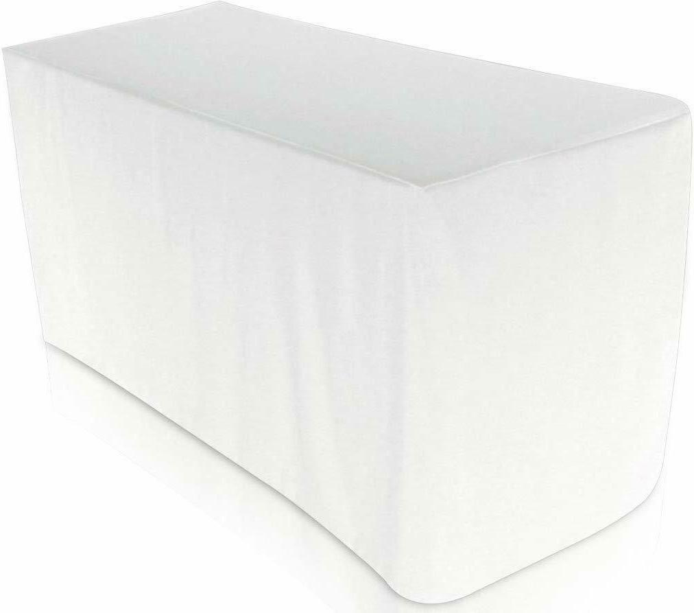 fitted tablecloth 6 feet rectangular table cover