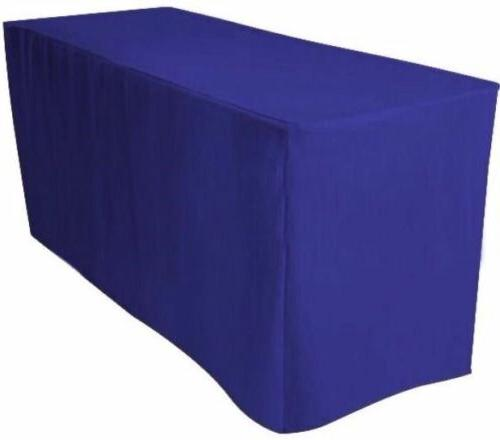 ft fitted polyester table cover
