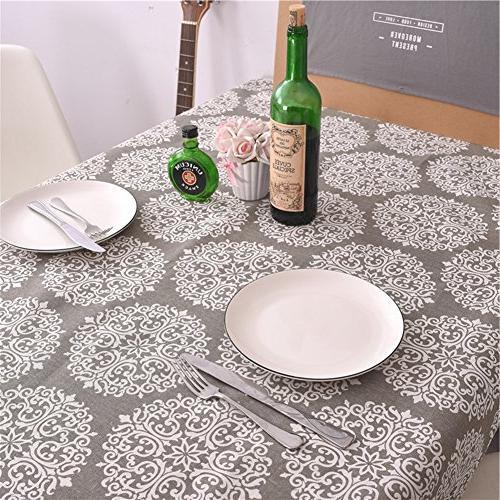 ColorBird Cotton Linen Dust-Proof Cover Tabletop