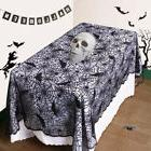 Halloween Bat Lace Props Table Lamp Cover Curtain Fireplace