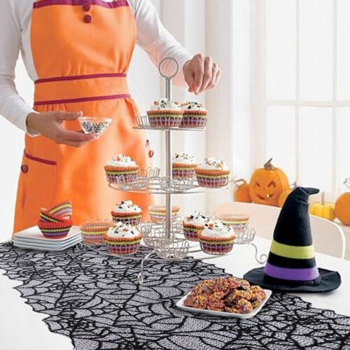 Halloween Spider Table Runner KY