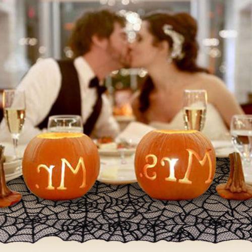 Halloween Spider Table Runner Cover Decor