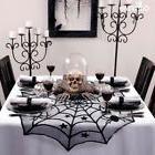 Halloween Spider Web Table Cover Cobweb Kitchen Linen Cloth
