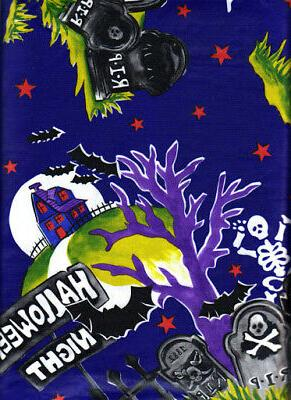 halloween tablecloth vinyl flannel back party table