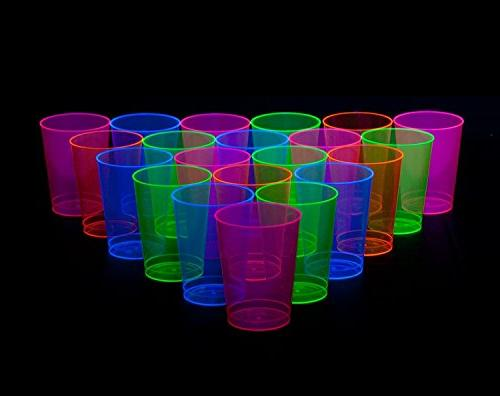 Party Essentials Hard 10-Ounce Party Cups/Tumblers, Assorted
