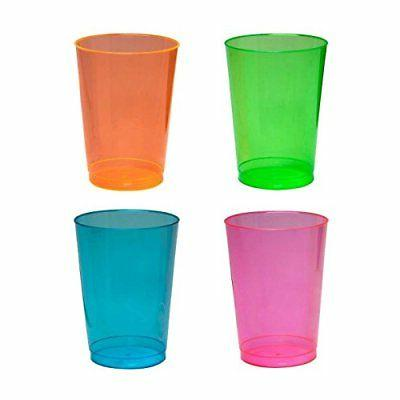 Party 10-Ounce Party Assorted Neon