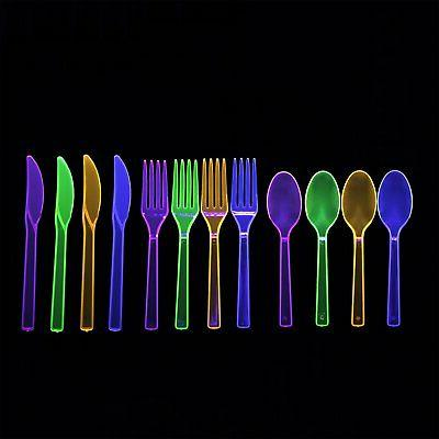 Party Essentials Cutlery Combo Pieces/96 Settings,