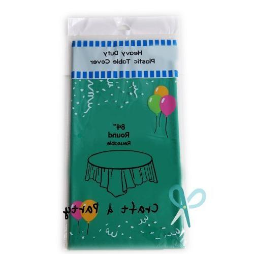 heavy duty plastic table covers