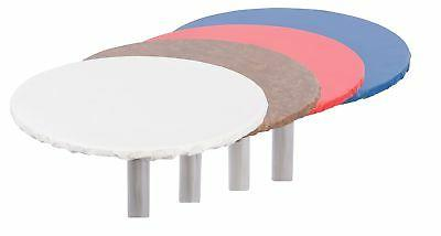 Yourtablecloth Heavy Duty Round Fitted