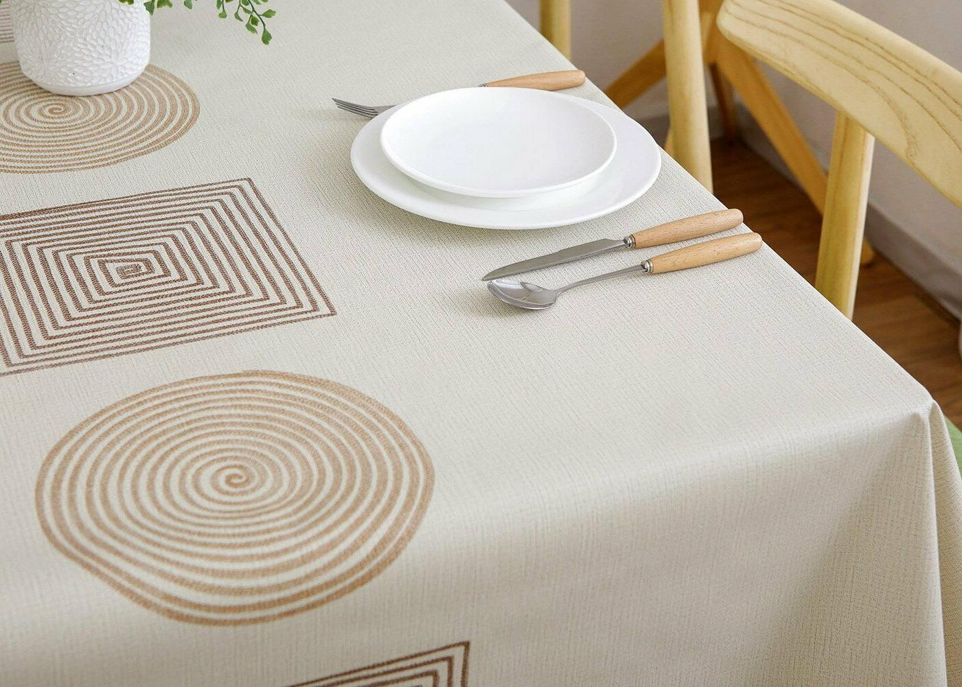 LEEVAN Rectangle Tablecloth