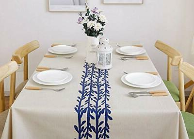 LEEVAN Heavy Weight Vinyl Rectangle Table Cover
