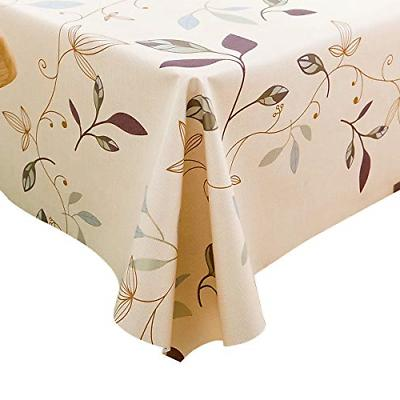 heavy weight vinyl table cover wipe clean