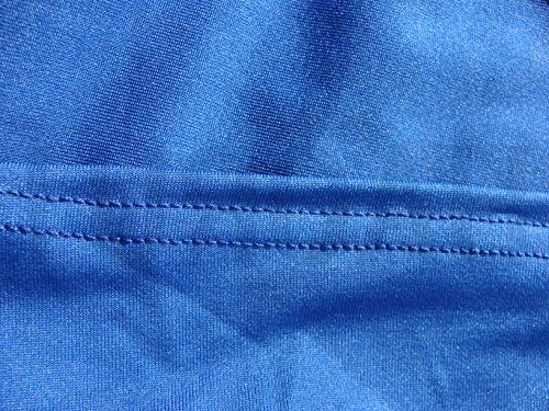Haorui Cocktail Round Fitted Stretch Spandex for Blue