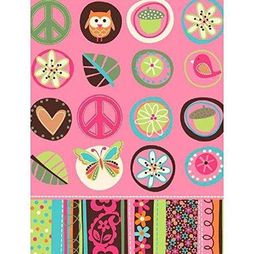 hippie chick table cover birthday