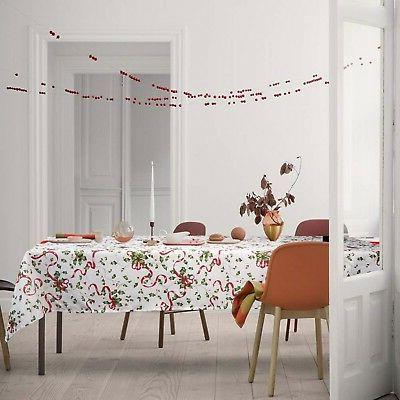 ColorBird Tablecloth, Red Ribbon for Ki... New