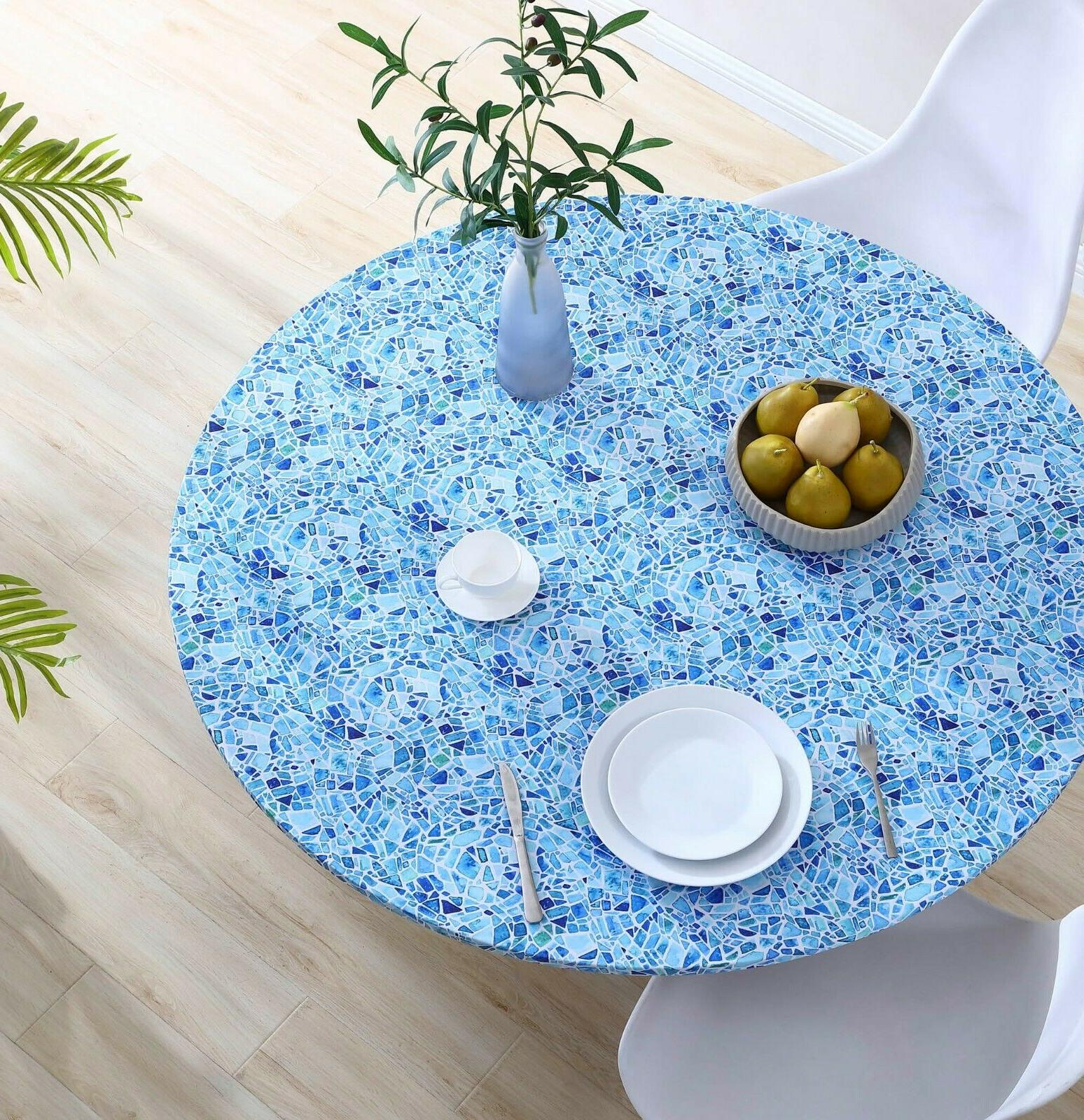 Brielle Printed Fabric Table Cover