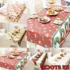 Home Christmas Festival Dinner Tablecolth Party Table Cover