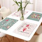 IK- Flamingo Table Placemats Coaster Cover Mat Cutlery Holde