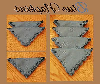 JACQUARD Design Cloth Napkins