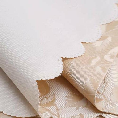 Jacquard Floral Cloth Napkin Runner Round Tableware FS3