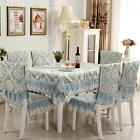 Jacquard weave Lace Tablecloth Table Cloth Cover Outdoor & K