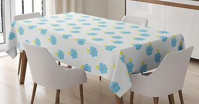 King Tablecloth Ambesonne 3 Sizes Rectangular Table Cover Ho