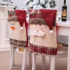 Kitchen Table Embroidered Chair Covers Christmas Holiday Hom