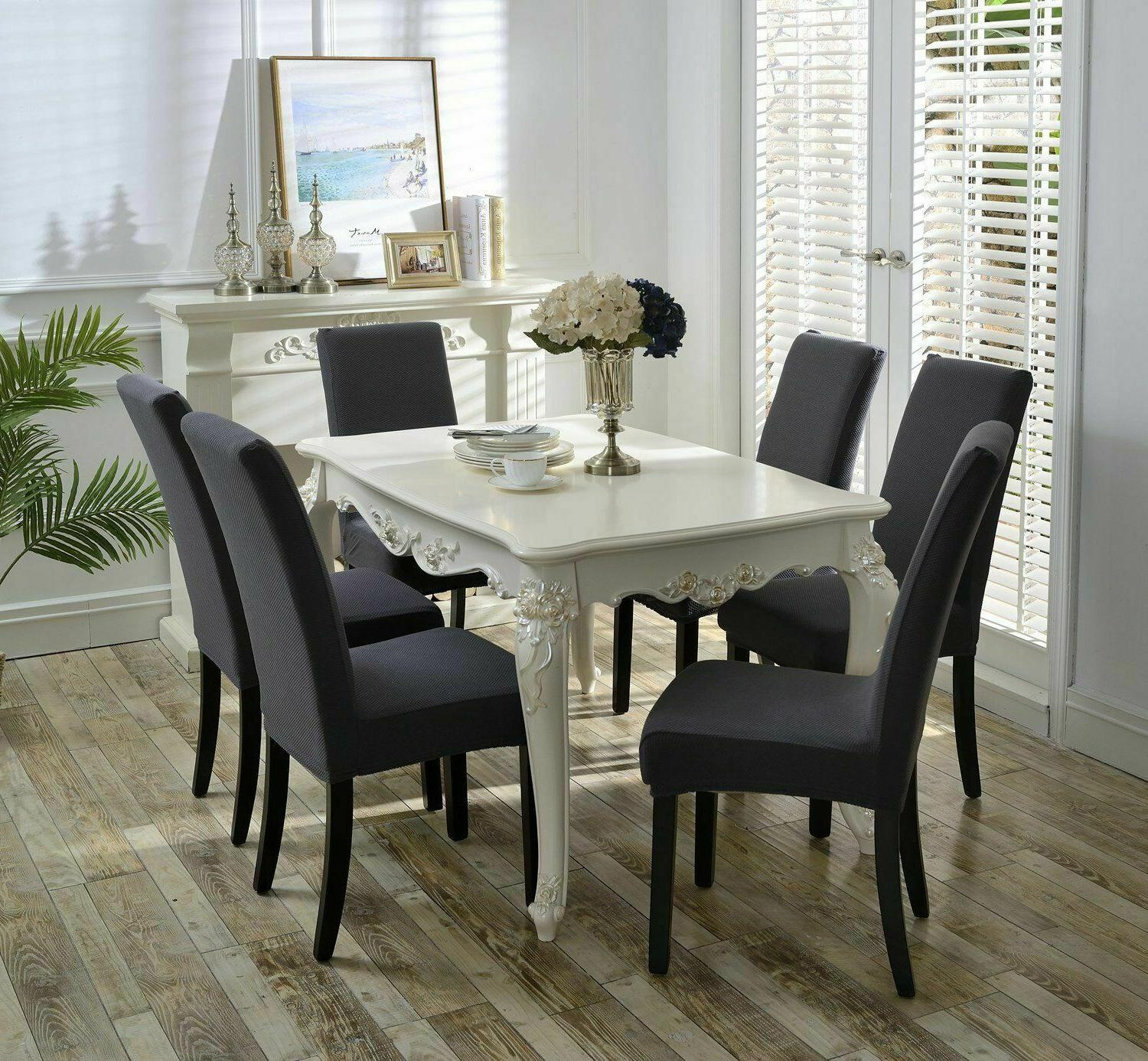 Homluxe Spandex Stretch Dining Chair 4-Pack!