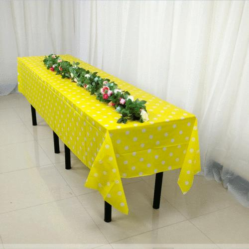 Large Plastic Cover Cloth Party Covers
