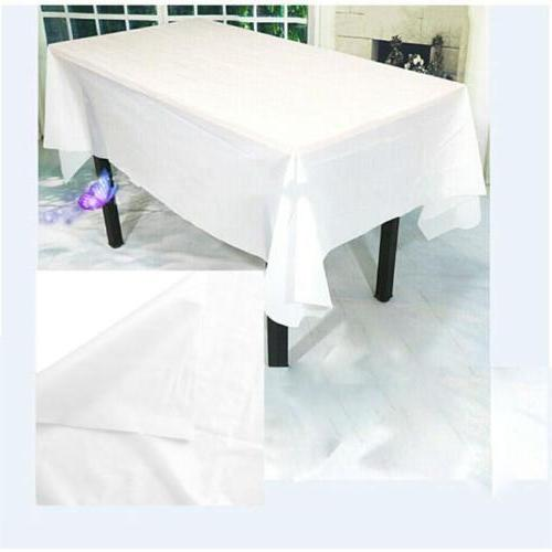 Large Rectangle Table Cover Satin Wedding