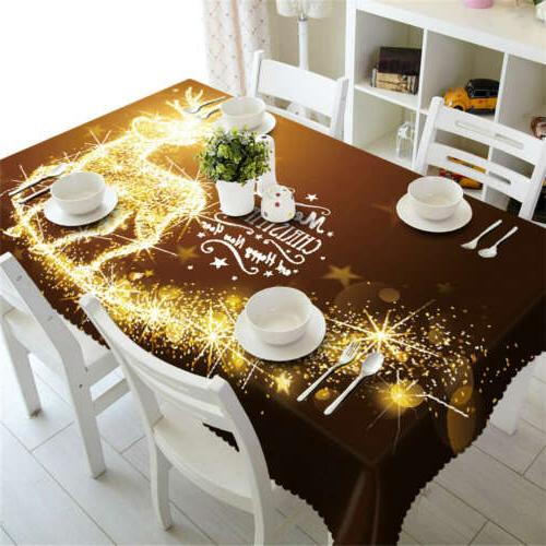 lightning flash 3d tablecloth table cover cloth
