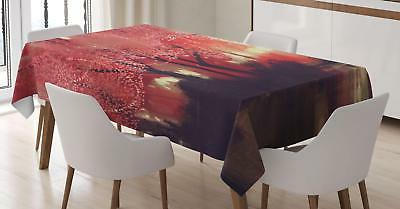 Lively Colorful Tablecloth by Ambesonne 3 Sizes Rectangular