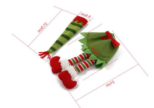 LOT Merry Placemats Table Mats Bottle Cover